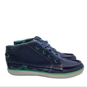 Keds Revelry Chukka Navy Blue Size6 NWOT